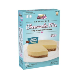 'FREE GIFT': Puppy Cake Salted Caramel No-Bake Cheesecake Mix For Dogs 11oz