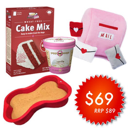 $20 OFF (WEEKEND FLASH DEAL): Puppy Cake Limited Edition Gift Box For That Special Someone