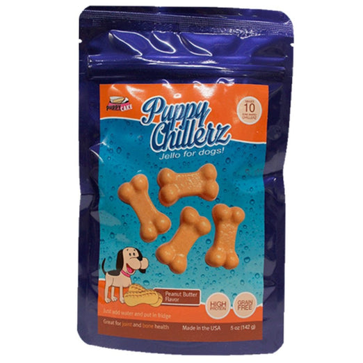 Puppy Chillerz Peanut Butter Flavour Jello For Dogs 5oz