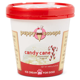 10% OFF: Puppy Scoops Candy Cane Flavour Ice Cream Mix For Dogs 5.25oz (Exp Aug 19)