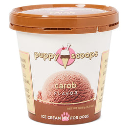 2 FOR $25: Puppy Scoops Carob Flavour Ice Cream Mix For Dogs 5.25oz (LIMITED TIME)