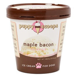 2 FOR $25: Puppy Scoops Maple Bacon Flavour Ice Cream Mix For Dogs 5.25oz (LIMITED TIME)