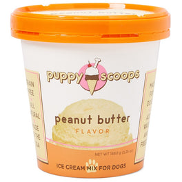 10% OFF: Puppy Scoops Peanut Butter Flavour Ice Cream Mix For Dogs 5.25oz (Exp Aug 19)