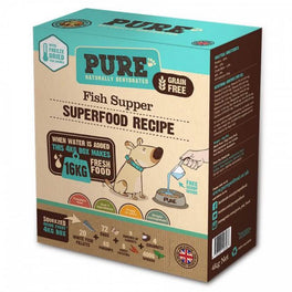FREE TREATS: PURE Fish Supper Freeze Dried Dog Food