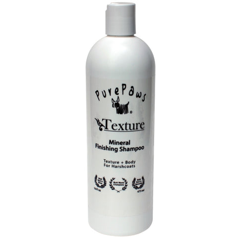 Pure Paws Texture Mineral Finishing Shampoo 16oz - Kohepets