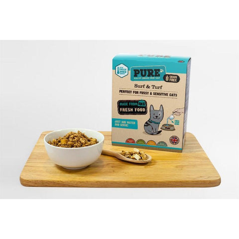 'FREE 200G W/ 1KG': PURE Surf & Turf Freeze Dried Cat Food - Kohepets