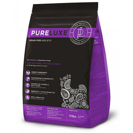 PureLuxe Grain Free Holistic Elite Nutrition For Small Breed Dogs Dry Dog Food