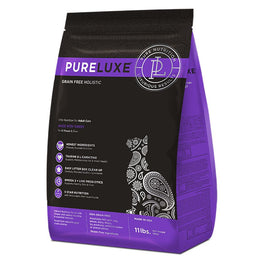 PureLuxe Grain Free Holistic Elite Nutrition for Adult Cats Dry Cat Food 3.3lb