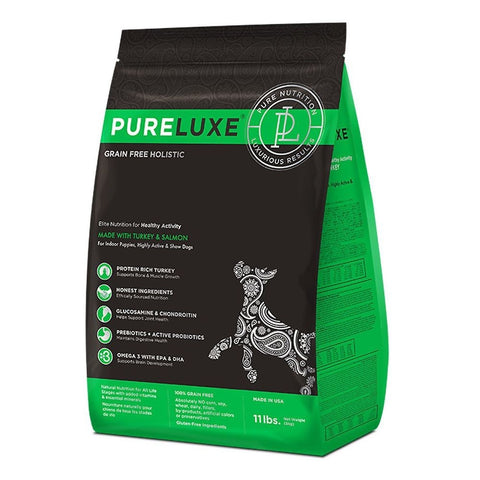 PureLuxe Grain Free Holistic Elite Nutrition for Healthy Activity Dry Dog Food - Kohepets