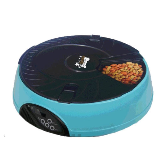 15% OFF: Qpets 6 Meals Timed Automatic Pet Feeder