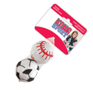 Kong 2-Pack Sport Balls Dog Toy Large - Kohepets