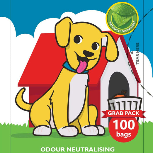 QuickGrab Fragranced Dog Litter Disposal Bags 100ct