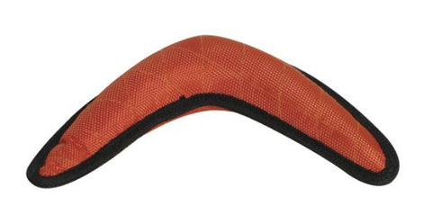 Dogit Tuff Luvz Nylon Boomerang Orange Dog Toy - Kohepets