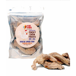 Raw Rawr Chicky Chew Chicken Neck Freeze Dried Cat & Dog Treats 70g