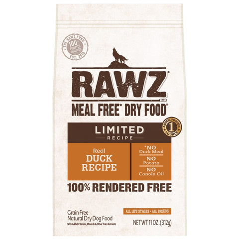 RAWZ Limited Recipe Real Duck Grain Free Dry Dog Food
