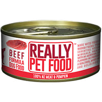 50% OFF: Really Pet Food Beef Canned Dog Food 90g (Exp 8 Mar 19)
