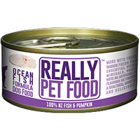 50% OFF: Really Pet Food Ocean Fish Canned Dog Food 90g (Exp 8 Mar 19)