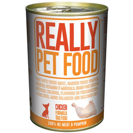 Really Pet Food Chicken Canned Dog Food 375g