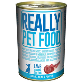 Really Pet Food Lamb Canned Dog Food 375g