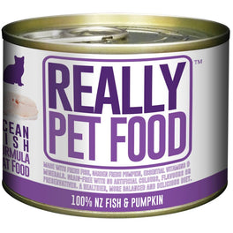 10% OFF: Really Pet Food Ocean Fish Canned Cat Food 170g