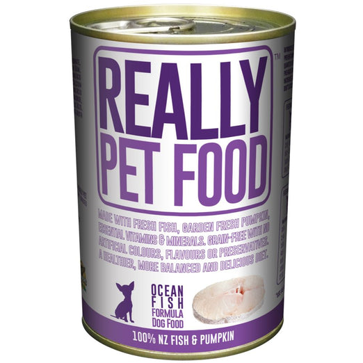 Really Pet Food Ocean Fish Canned Dog Food 375g - Kohepets