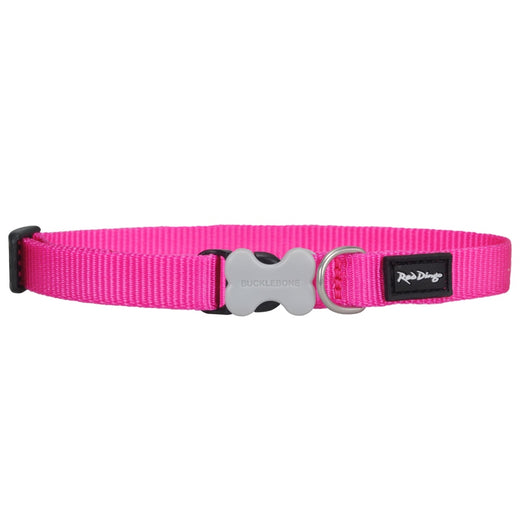 Red Dingo Classic Dog Collar 25mm - Kohepets