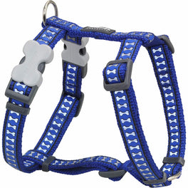 Red Dingo Reflective Dog Harness - Small