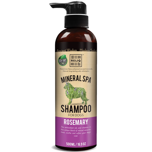 Reliq Mineral Spa Rosemary Shampoo For Dogs - Kohepets