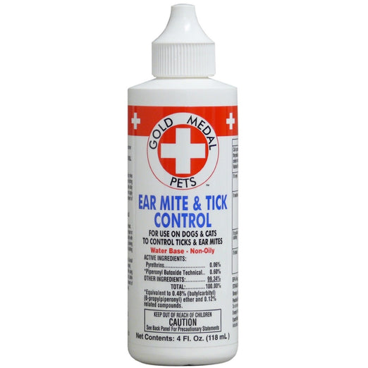 Remedy+Recovery Ear Mite & Tick Control 4oz - Kohepets