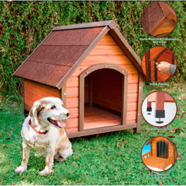 Richell Wooden Dog House
