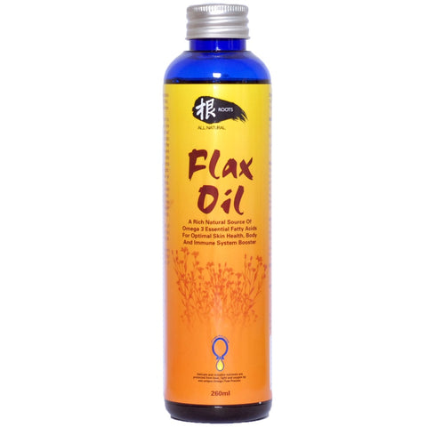 Roots All Natural Flax Oil Supplement 260ml - Kohepets