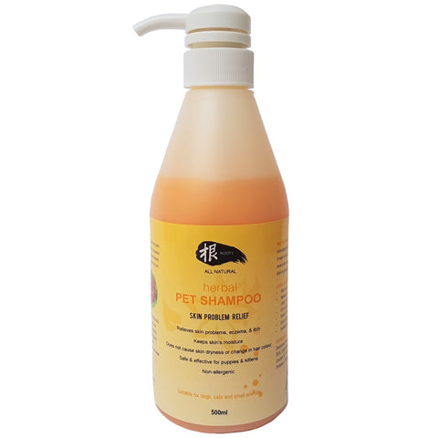 Roots All Natural GEN Herbal Skin Problem Relief Pet Shampoo - Kohepets