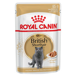 Royal Canin Feline Health Nutrition British Shorthair Pouch Cat Food 85g