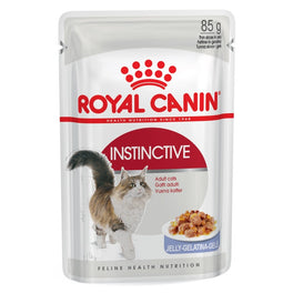 Royal Canin Feline Health Nutrition Instinctive in Jelly Pouch Cat Food 85g
