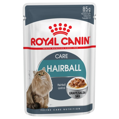 Royal Canin Feline Health Nutrition Hairball Pouch Cat Food 85g