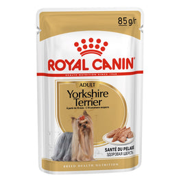 Royal Canin Yorkshire Terrier Adult Pouch Dog Food 85g