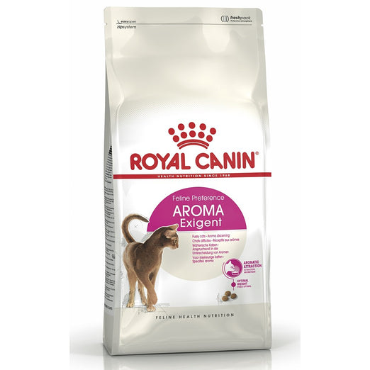Royal Canin Feline Health Nutrition Exigent Aroma Dry Cat Food 2kg