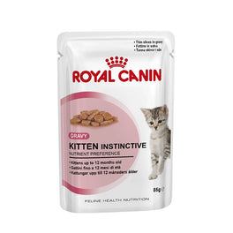 Royal Canin Feline Health Nutrition Kitten Pouch Cat Food 85g