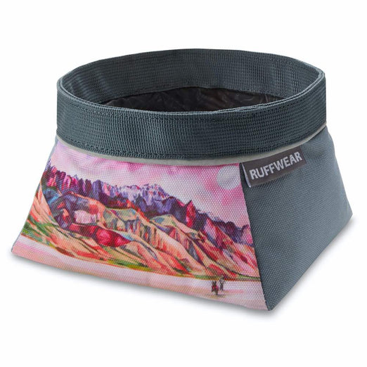 Ruffwear Quencher Artist Series Collapsible Food & Water Dog Bowl (Alvord Desert) - Kohepets