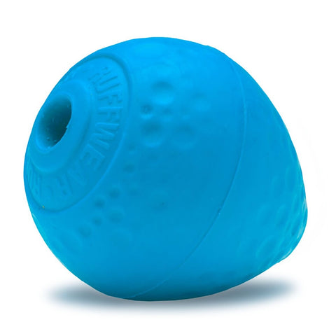 Ruffwear Turnup Treat Dispenser Dog Toy (Metolius Blue) - Kohepets
