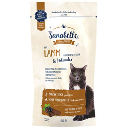 10% OFF: Sanabelle Lamb & Elderberry Cat Sticks 55g