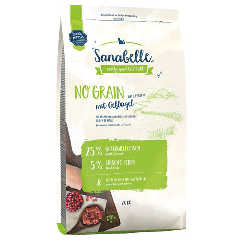 Sanabelle No Grain Poultry Dry Cat Food