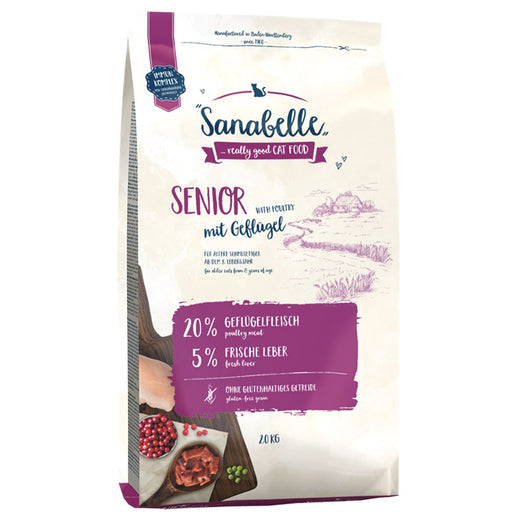 Sanabelle Senior Dry Cat Food