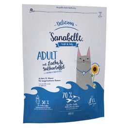 $7 OFF 2KG: Sanabelle Delicious Salmon & Sweet Potato Adult Grain-Free Dry Cat Food