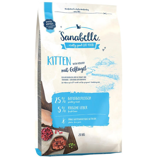 Sanabelle Kitten & Mother Dry Cat Food