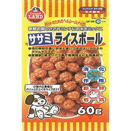 Marukan Sasami & Rice Ball Dog Treat 60g