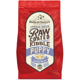 15% OFF + FREE TREATS: Stella & Chewy's Freeze-Dried Raw Coated Kibble Puppy Chicken Dry Dog Food