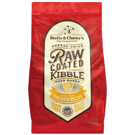 15% OFF: Stella & Chewy's Freeze-Dried Raw Coated Kibble Chicken Dry Dog Food