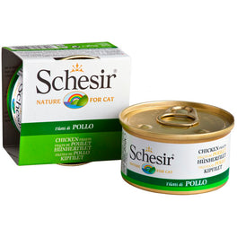 Schesir Chicken Fillets Canned Cat Food 85g