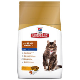 20% OFF: Science Diet Mature Adult Hairball Control Chicken Dry Cat Food 2kg